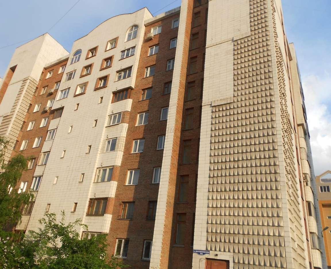 Квартира в аренду по адресу Россия, Омская область, Омск, Масленникова улица,дом 78