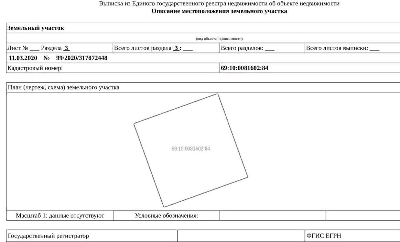 Участок на продажу по адресу Россия, Тверская область, Калининский р-н, Медное село